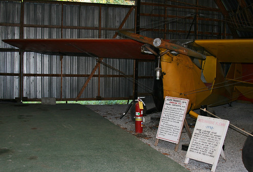 Aeronca C3 Master (N17447) at Old Rhinebeck