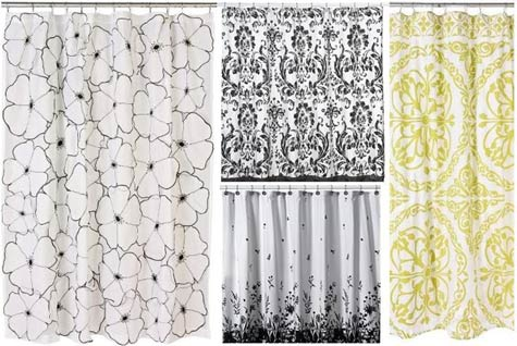 Wonderful [image Above, Left To Right: Petal Falls Curtain $148, Nicole Miller Curtain  $49.99, Sweet William Curtain $29.99, Grass And Sky Curtain $88]