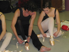 First Pointe Class Ge 6 Ballet 2008 (Carlson's School of Dance) Tags: school dance carlsons