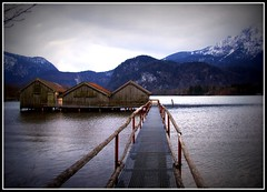 Kochelsee Schlehdorf Germany (dragonheart_mj) Tags: houses lake mountains alps art nature architecture germany deutschland bavaria landscapes town dock europe village paintings flats alp kochelsee schlehdorf