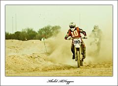 Off road (Khalid AlHaqqan) Tags: bike race speed offroad engine bikes motorbike motor kuwait dust khalid racer kuwson alhaqqan kvwc