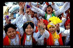 Kids Bhangra (Raminder Pal Singh) Tags: red smile kids happy dance energy arms d70 nikond70 traditional joy culture excited jubilant desi artists laugh triumph grin perform turban tradition punjab excitement folkdance amritsar pca bhangra raise headgear ecstatic attire vaisakhi baisakhi thepca visakhi raminder enstantane platinumphoto kidsraisingarms kidsenjoying kidsinhappymood punjabimages punjabphotos bhangraimages bhangraphoto gabhroo gabhru pcafriends