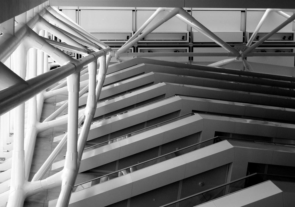 Looking Up in the Caisse de dépôt et placement du Québec