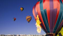 Hot Air Ballooning in Park City