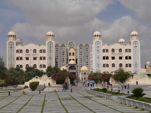 Det nye kloster i Abu Mina