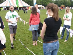 Measuring carbon footprints at Camden Green Fair