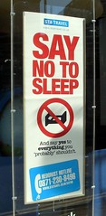 Say no to sleep!