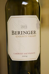 2004 Beringer Knights Valley Cabernet Sauvignon