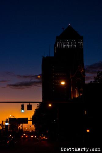 Columbus Sunset - BrettMarty.com