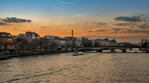 Le musée d'Orsay depuis le Pont des Arts