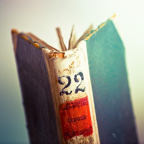 Textured Vintage Book