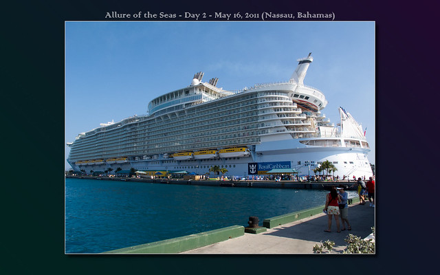 Arriving Nassau, Bahamas