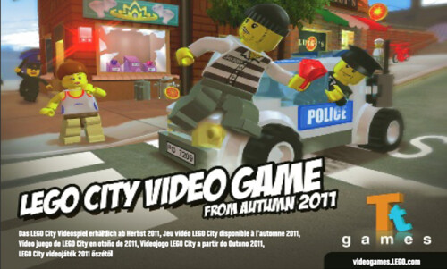 LEGO City Stories Announced Exclusive For 3DS And Wii U