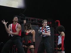 The Tyce Diorio-choreographed 'Cabaret' number from Hartford. Photo by Toastiness. (09/23/2007)