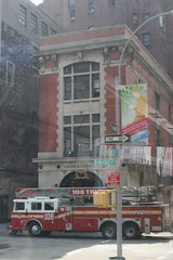 Ghostbuster's Firehouse (Cole_H) Tags: nyc newyorkcity newyork firehouse ghostbusters bustour hookladder8
