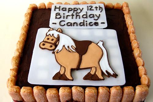 Pony Cake Order
