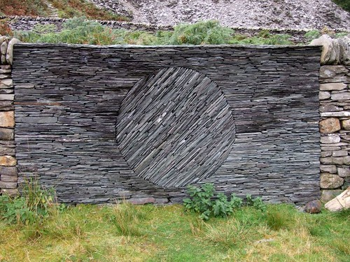 Opposite 1 by RoystonVasey. andy goldsworthy stone wall
