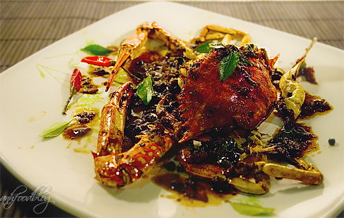 Malaysian Pepper Crab