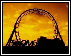 Rollercoaster Dreams  (~ Seba ~) Tags: chile santiago sepia vintage spider memories dreams nostalgic rollercoaster sephia boomerang seba sebastin fantasilandia supershot 10faves artedechile 35faves abigfave artechileno anawesomeshot infinestyle diamondclassphotographer megashot fotografachilena fotgrafoschilenos