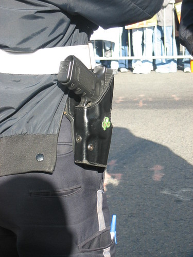 Boston Cop - Gotta have the Shamrock on the Holster!