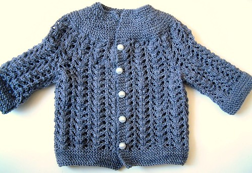 EZ Baby Sweater- with buttons