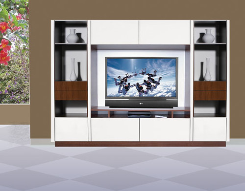 Joseph Wall Unit for Table Top TV