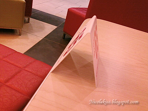edge of table