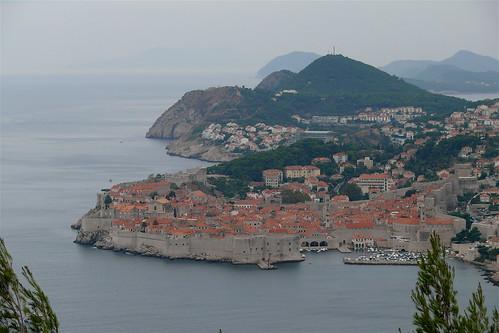 Dubrovnik látkép