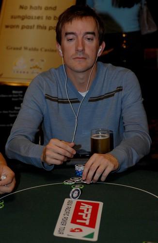 APPT Macau 2007 High Roller Event: Kirk Morrison and his lucky beer
