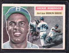 Jackie Robinson (eks4003) Tags: history sports field brooklyn baseball hero pioneers mbl robbie firsts civilrights dodgers boysofsummer 1947 blackhistory jackierobinson ebbetts brooklyndodgers dembums