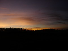 Last light of November 2007