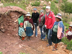 Us visiting latrines