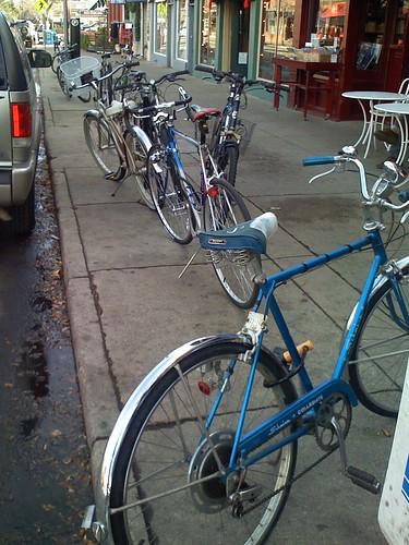 Bike Parking on Pearl