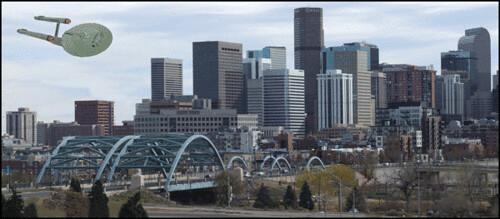 A UFO Over Denver