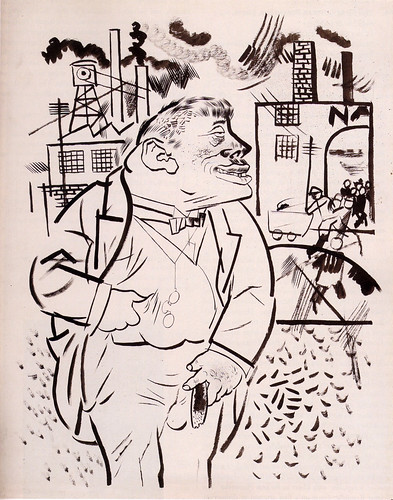 I Shall Exterminate Everything around Me That Restricts Me from Being the Master by George Grosz