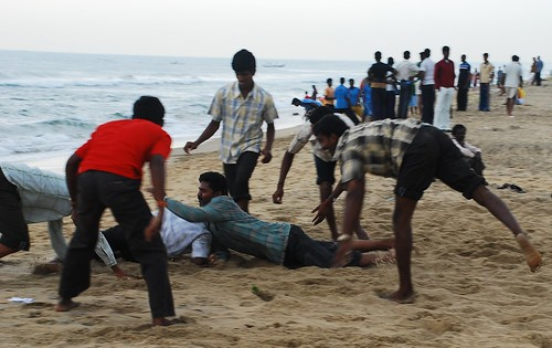 Elliots Beach, Chennai