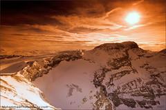 Burning Alps (Dr. M. Alkandari) Tags: sunset orange mountains alps 20d nature colors clouds canon landscape high swiss mohammad montblanc  vwc kwtphoto aplusphoto  kvwc mohammadalkanderi  kuwaitvoluntaryworkcenter  kuwaitvwc alkandari