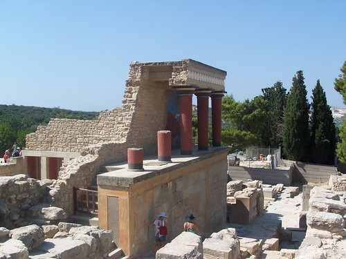 Partly restored @ Knossos