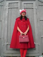 lost kitten (Lorena Cupcake) Tags: red urban cute fashion japan clothing shoes dress girly hellokitty style skirt lolita loli accessories fashionvictim streetstyle brandwhore