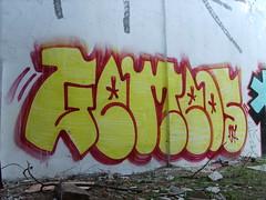 Os Gêmeos (Cauê Rangel) Tags: street city art graffiti style spray bomb