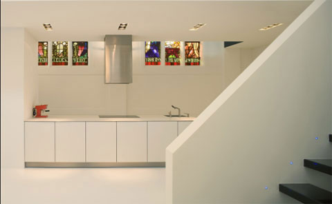2212481372 c39b4d7768 o A Chapel Converted Into a Modern Apartment
