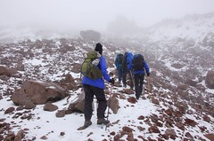 Hiking on Chimborazo
