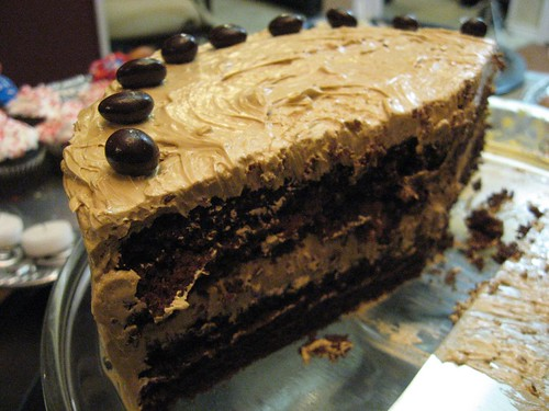 Devil's Food Cake with Coffee Buttercream