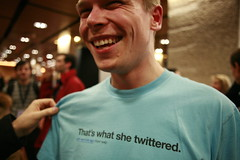 robert scoble's twitter shirt image