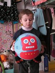 Bediboo robot ball