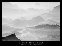 Big Sur Fisherman, Winter Surf (G Dan Mitchell) Tags: ocean california travel blackandwhite usa mist seascape man silhouette rock fog landscape person coast fishing fisherman highway surf waves pacific stock scenic bigsur spray pole rod swells superbmasterpiece induro gdanmitchell