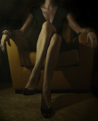 the yellow armchair (hanna.bi) Tags: portrait woman selfportrait yellow bravo armchair firstquality hannabi abigfave artlibre artlibres hourofthediamondlight autorretratoydetalles