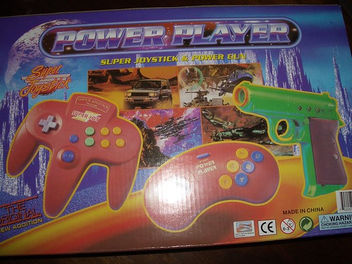 Power Player, back of the box