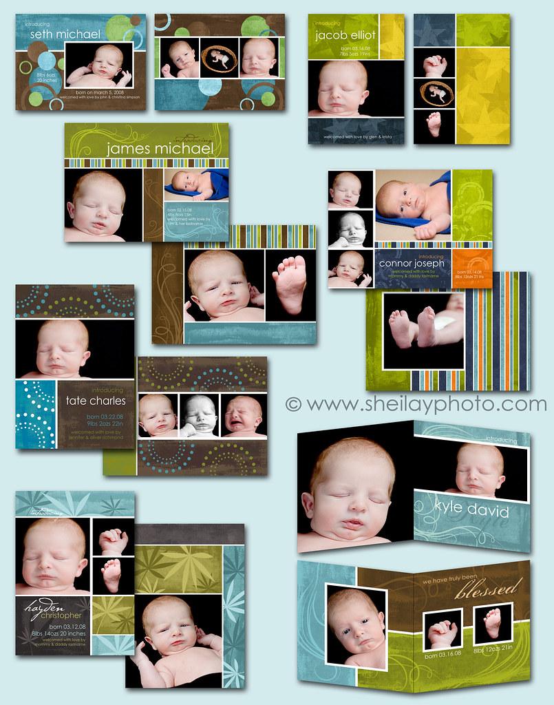 Birth Announcements - Boy