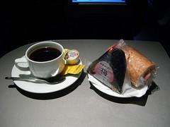 Midnight snack, Lufthansa LH715 NRT-MUC